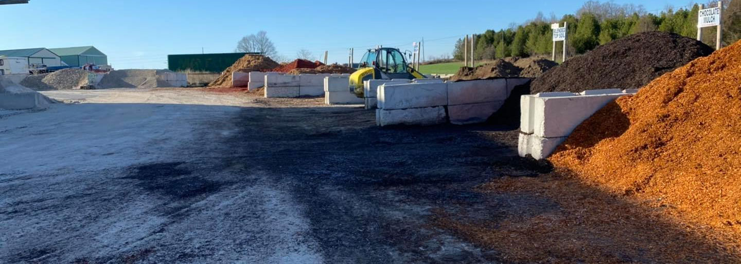 Mulch, Stone, Topsoil, and Sod in Door County, WI